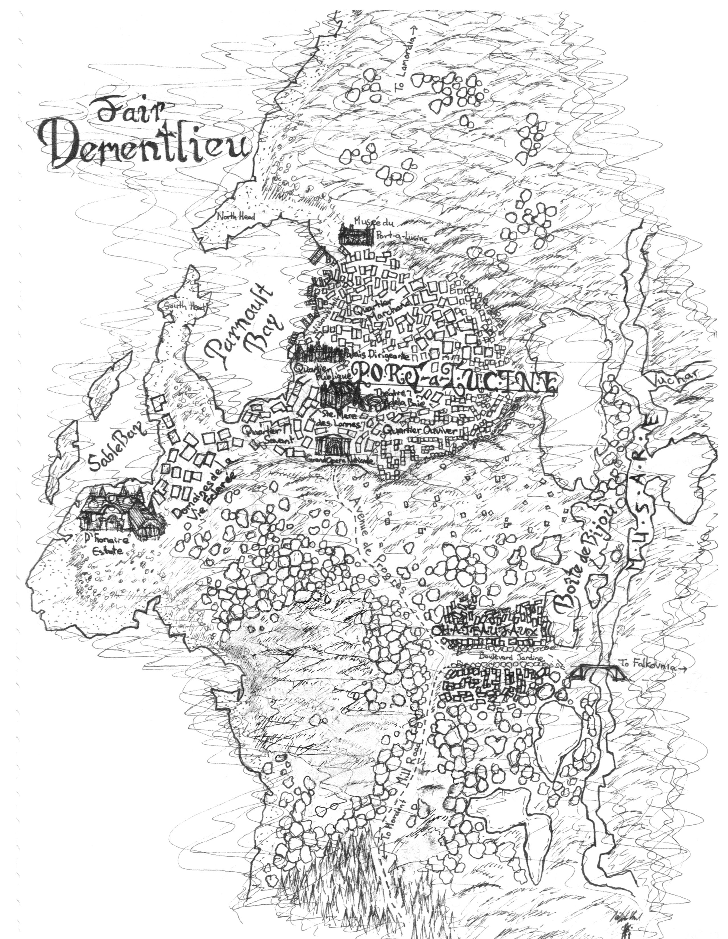 Ravenloft Map
